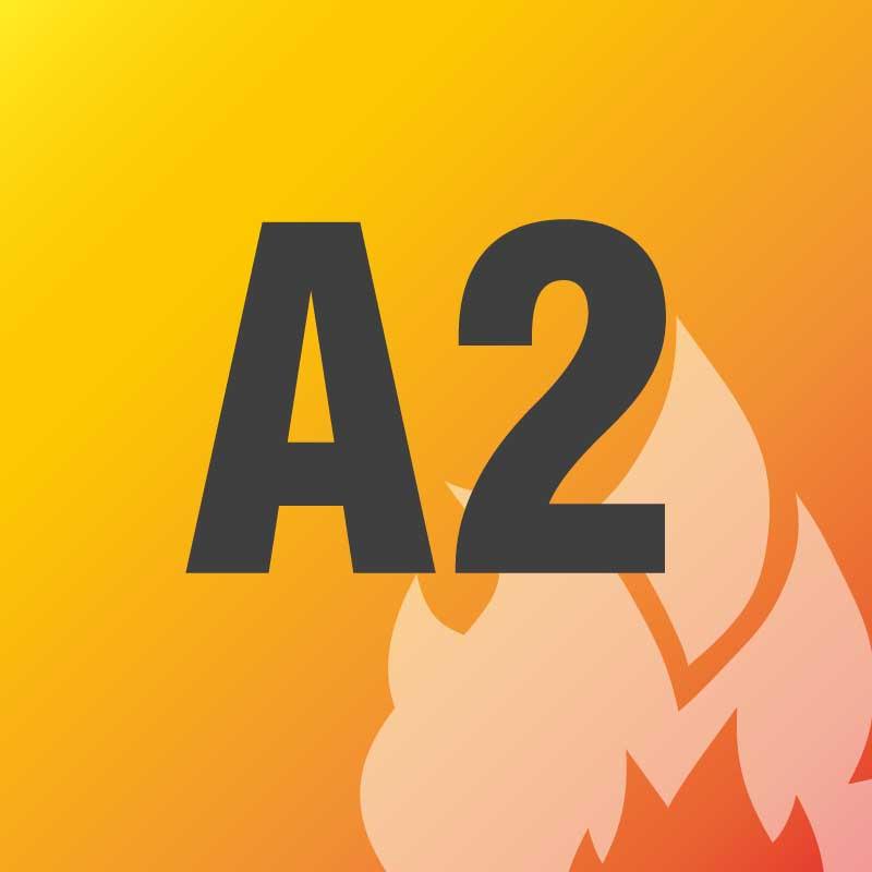 A2 - nicht brennbar