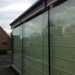 Fassadenmarkise Stab/Seil