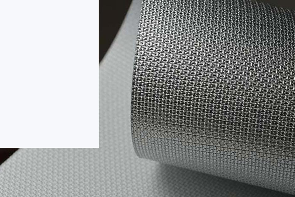 hochreflektierende Textilscreens