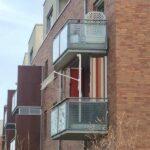 Klemmfix-Markise Balkon