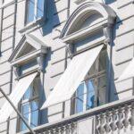 Markise historische Fassade