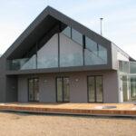 schräge Fassadenmarkisen