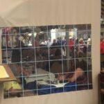 Senkrechtmarkisen mit Sichtfenster