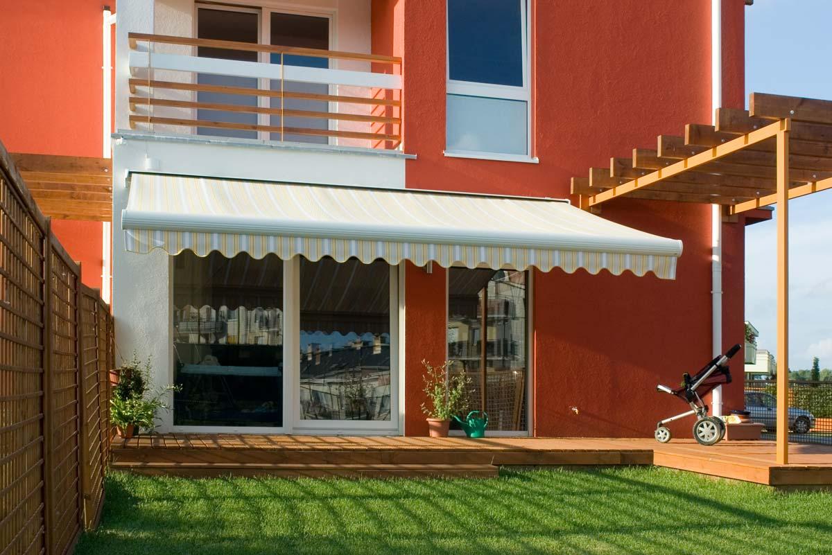 Terrassen-Gelenkarmmarkise