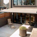 Terrassenrollo mit Kasten
